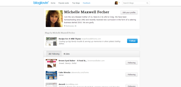 Michelle Maxwell Fecher (zookeeper12) on bloglovin
